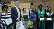 African women receive Kwame Nkrumah Awards in Ethiopia