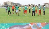 Arsenal Soccer Schools head coach visits Ethiopia