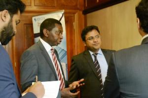 Fiorano introduces its solutions to Ethiopian bankers