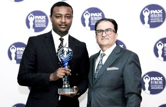 Ethiopian Wins Africa's Outstanding Food Services Award