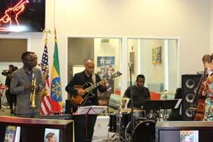 U.S. Embassy Inaugurates Satchmo Center Public Engagement Space