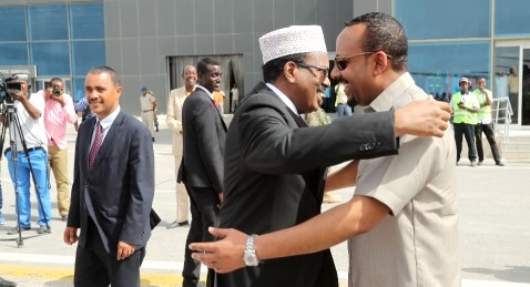 Prime Minister Abiy Ahmed of Ethiopia visits Somalia
