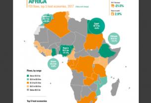 FDI flow to Africa declines, UN report