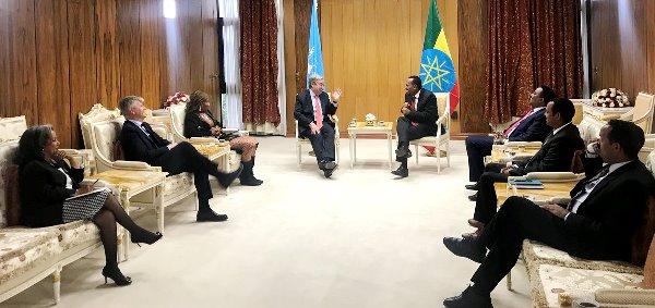 Ethiopia demands UN to lift sanction on Eritrea