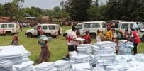 Red Cross delivers emergency assistance to Ethiopians displaced by violence