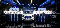 Nissan launches zero emission car production