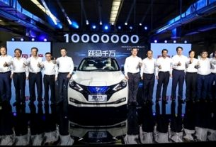 Nissan launches zero emission car production