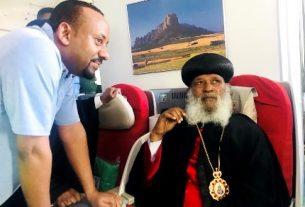 Ethiopia Orthodox Church receives its exiled Patriarch