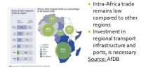 Continental free trade to support Africa's industrial exports