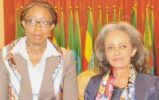 UNECA head discusses women empowerment with Ethiopia's female president
