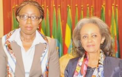 UNECA head discusses women empowerment with Ethiopia's female president