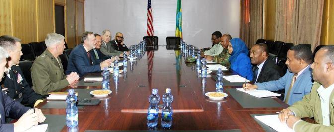 Ethiopia, United States officials discuss security cooperation
