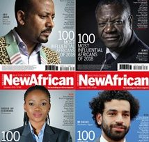 Gender parity in New African magazine's list of 100 Most Influential Africans