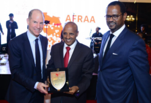 Ethiopian Airlines wins best Africa airlines award