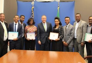 Embassy provides special self-help grants to organizations in Ethiopia