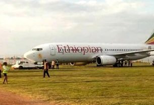 Ethiopian Airlines crash lands in Entebbe