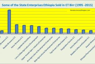 Ethiopia generates $3 billion selling state enterprises