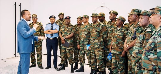 Ethiopia Defense Council met at PM office