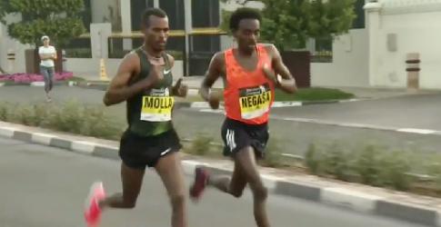 Ethiopia athletes storm Dubai Marathon
