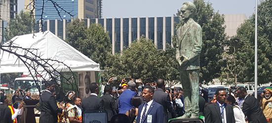 African Union unveils Ethiopia's Emperor Haile Selassie I statue