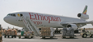 Ethiopian Airlines gets gold prize for cargo service
