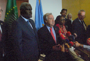 Wind of hope blowing in Africa, UN chief says