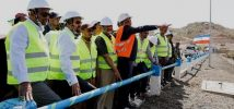 Ethiopian PM inaugurates irrigation dam