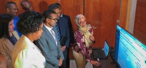 United States helps Ethiopian Food, Drug Administration's digitization