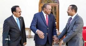 Kenya, Somalia leaders met to resolve oil dispute