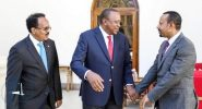 Kenya, Somalia leaders met to resolve oil dispute