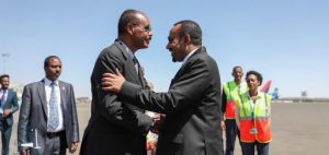 Ethiopian PM, Kenyan President arrive Asmara