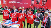Germans FC Bayern opens football school in Ethiopia