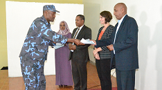 United States helps Ethiopian health professionals training