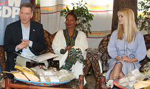 Ivanka Trump meets Ethiopian businesswomen in coffee, textiles industries