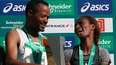 Ethiopian athletes shine at Paris marathon