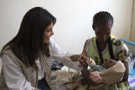 Indian top movie star Priyanka Chopra visits Ethiopia