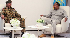 Ethiopia's premier meets Sudan's Military Transitional Council chief