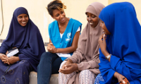 Betty G visits Somali refugees in Ethiopia
