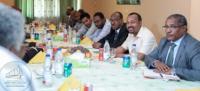 Ethiopia premier arrives Khartoum to mediate troubled nation