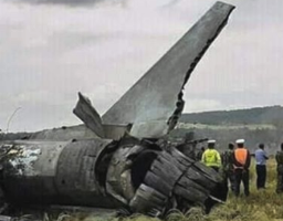 Two die in Ethiopia military jet crash