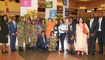 UN Deputy Chief meets women peacekeepers in Ethiopia