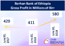 Berhan Bank of Ethiopia profit up 41 percent