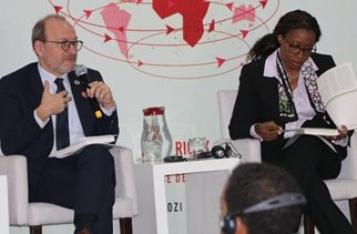 French agency boss launches a book in Ethiopia