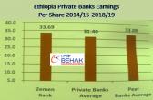 Ethiopia – Zemen Bank profit soars 87 percent