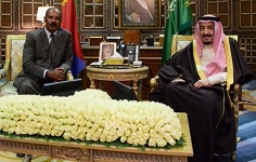 Eritrean President meets Saudi King