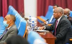 Politicians discuss fate of Ethiopia amid election suspension