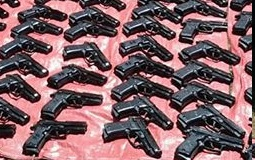 Ethiopian customs seizes 230 pistols from arms smugglers