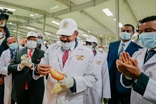 Ethiopia inaugurates 2 million bread per day baking factory