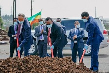 Addis launches express bus road construction