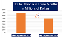 Ethiopia attracts half a billion dollar FDI in three months